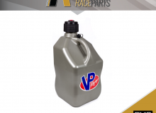 VP Racing Plastic Fuel Jug Container Drum | 5 Gallon | 20L | Silver | No Free Post