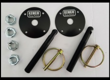 Kenco Black Bonnet Pins
