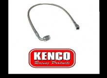"Kenco AN 3 Straight 90 Braided Brake Line 24"" 610mm Long"