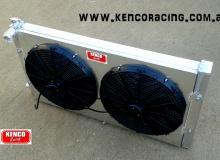 Kenco Big Boy Double Pass Aluminium Radiator and Fans