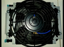 Kenco Oil Cooler w Fans