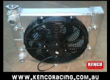 Kenco Small Boy Double Pass Aluminium Radiator and Fans