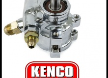Kenco Chrome Lightweight Power Steering Pumps